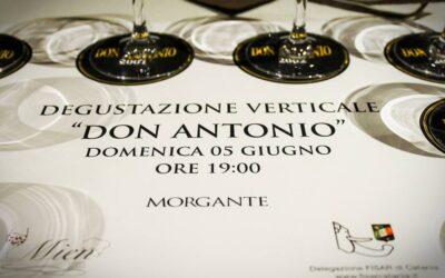 """Degustazione verticale di """"Don Antonio"""""""